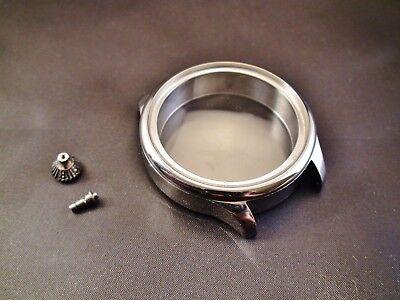 Stainless Steel Case 48mm For Conversion Antique Pocket Watch Movement S16,s18 Einfach Und Leicht Zu Handhaben