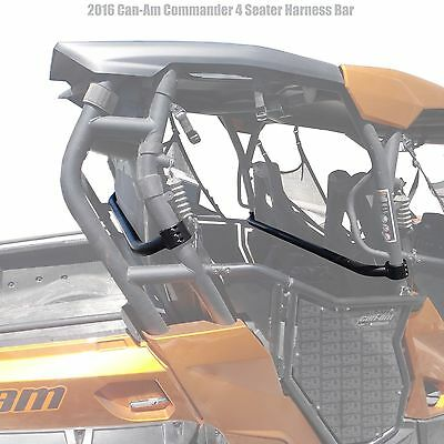 2016 Can-am Commander XT 800 1000 Shoulder 4 Point Safety Harness Bar Warranty