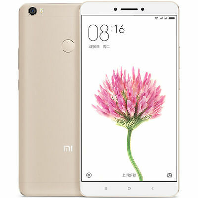 XIAOMI MI MAX MIUI 8 Snapdragon 650 Hexa Core 6.44 Inch Screen Touch ID 3GB 32GB