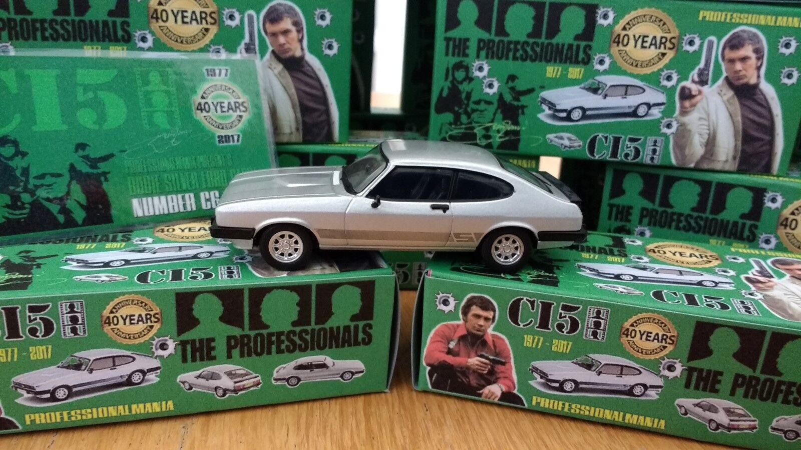 Los profesionales 40TH Aniversario argento Ford Capri 3.0s