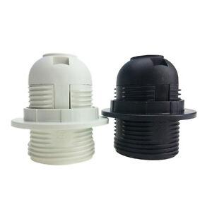 Small-Screw-E27-Light-Bulb-Lamp-Holder-Pendant-Socket-Lampshade-Ring-IO