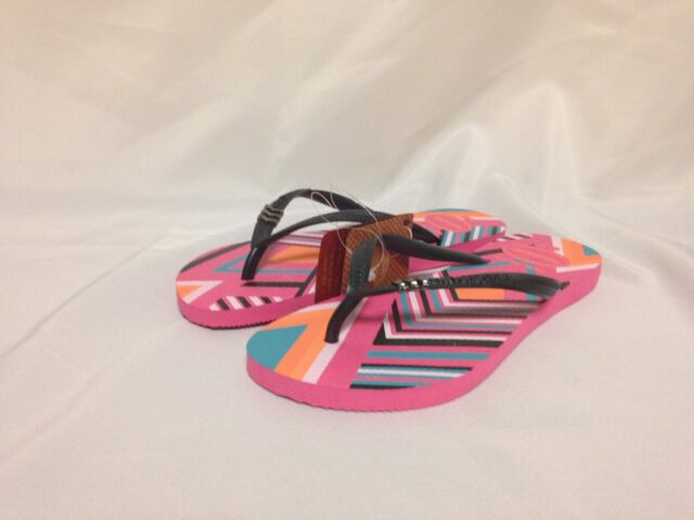 38d05c5e0 Havaianas Slim Tribal Flip Flop Shocking Pink 35 Br 6 M US 4115842 ...