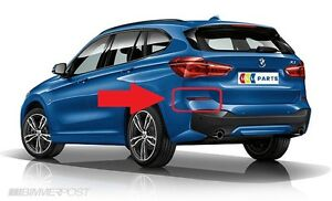 BMW-NEW-GENUINE-X1-SERIES-F48-15-REAR-M-SPORT-BUMPER-LEFT-N-S-REFLECTOR-7850997