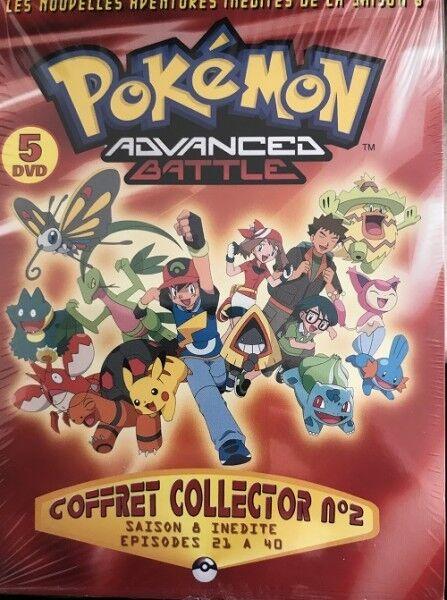 Pokemon Advanced Battle Saison 8 n°2 COFFRET DVD NEUF SOUS BLISTER