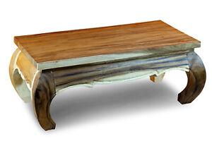 Couchtisch Holz Massiv 100 x 50cm Tisch Wohnzimmertisch ...