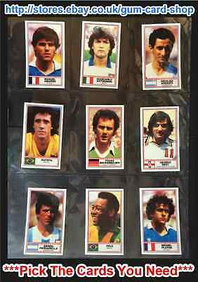Rothmans - Football International Stars 1984 ***Pick the Cards You Need***