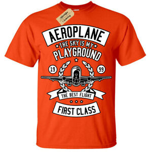 AEROPLANE PERSONALISED COLOUR IN YOUR OWN T-SHIRT *FUN NAMED HOLIDAY  ACTIVITY *