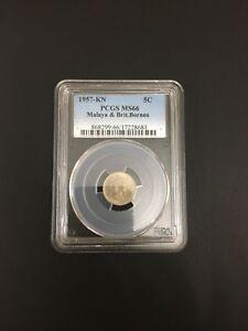 JC-5-cents-1957-KN-Malaya-British-Borneo-PCGS-Graded-MS66