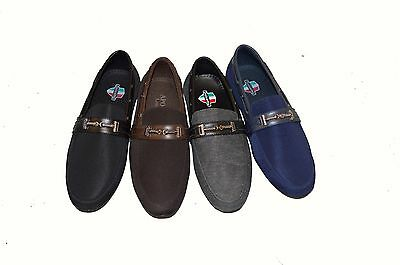 New Men's  Slip-Ons Loafers Moccasin Casual Flat Driving/ Shoes UK 6-12