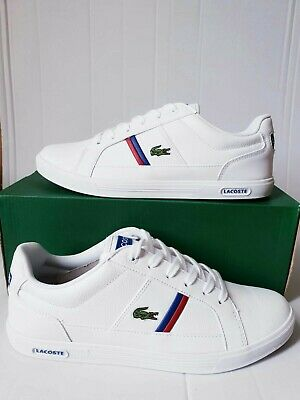 LACOSTE Men's Europa Leather Trainers