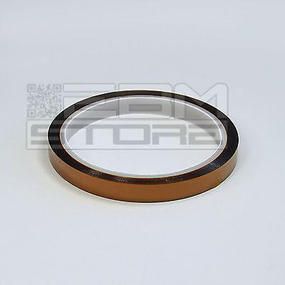 Nastro Kapton 10mm X 33mt reprap SMD BGA PCB rework Prusa - ART. DT16