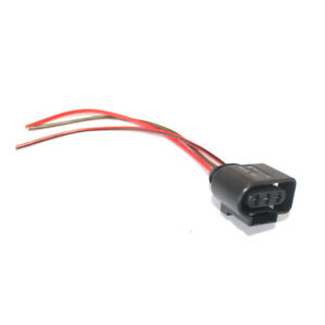 details about 3pin pigtail plug wiring harness connector 1j0973723 fit for audi vw skoda black Honda Wiring Harness