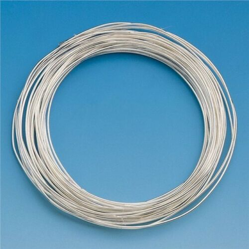 THIN Silver Coloured Jewellery Craft Modelling Modelling Clay Armature Wire 10M