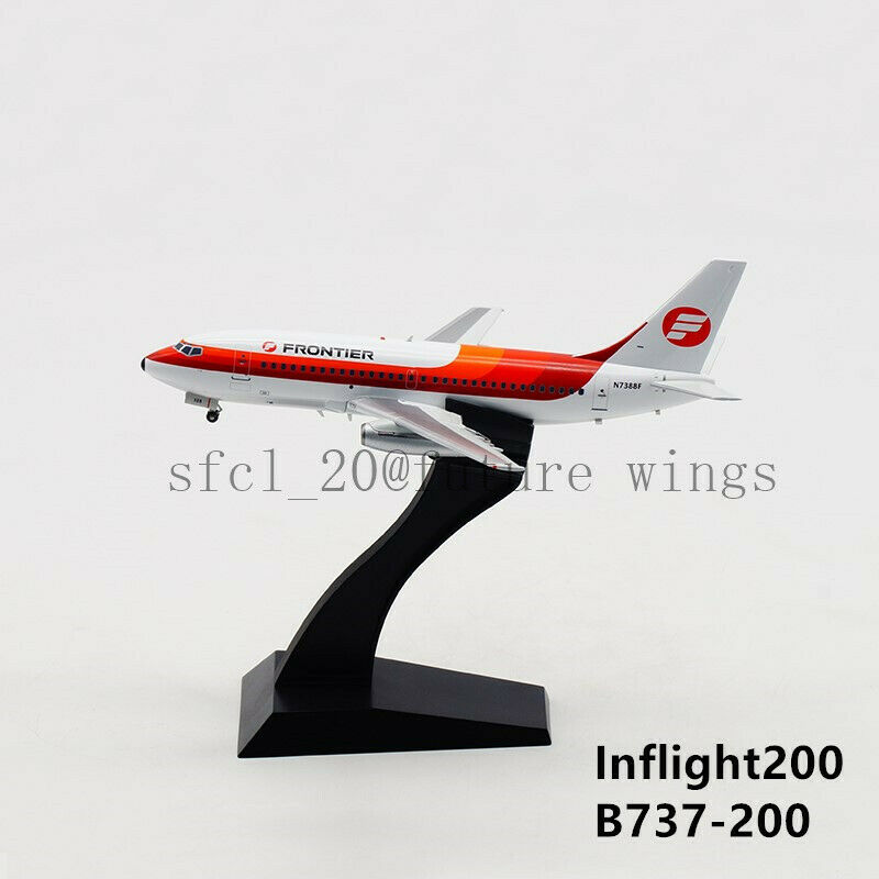 1 200 InFlight200 Frontier Airlines B737-200 N7388F With Stand IF732F90818