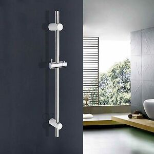 Bathroom Adjustable Sliding Rail Bar with Handheld Shower Head Holder Bracket