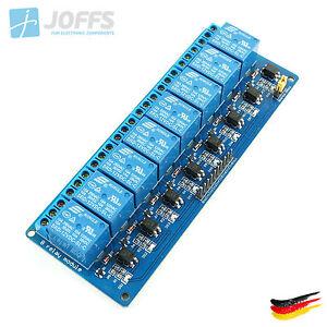 8-Kanal-12V-Relais-Modul-mit-Optokoppler-fuer-u-a-Arduino-8Ch-Active-Low