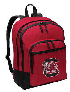 2aae2b20ca8e Details about South Carolina Gamecocks Backpack Red BEST QUALITY USC  BACKPACKS BAG SCHOOL BAGS