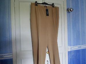 ELENA-MIRO-pantalon-camel-52-neuf
