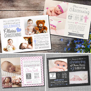 Personalised-Photo-Boy-Girl-CHRISTENING-Baptism-Naming-Day-Invitations-C03