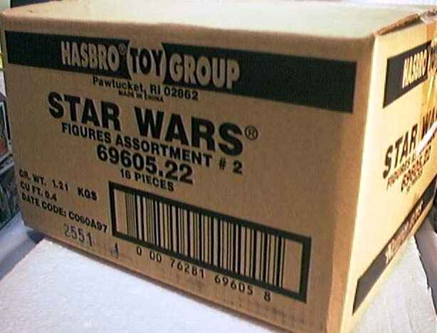 Star Wars Kenner Hasbro Action Figure Case 69605.22 Factory Sealed New 1997