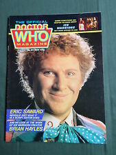 DOCTOR WHO MAG -COLIN BAKER  - NO 94 - NOV 1984