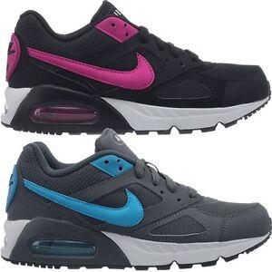 Nike-Air-Max-Ivo-WMNS-schwarz-od-grau-Damen-Fashion-Schuhe-LifeStyle-Sneaker-Neu