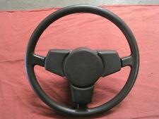 Porsche 911 VINTAGE Steering Wheel 3 Spoke Black RARE GERMAN ORIGINAL USED