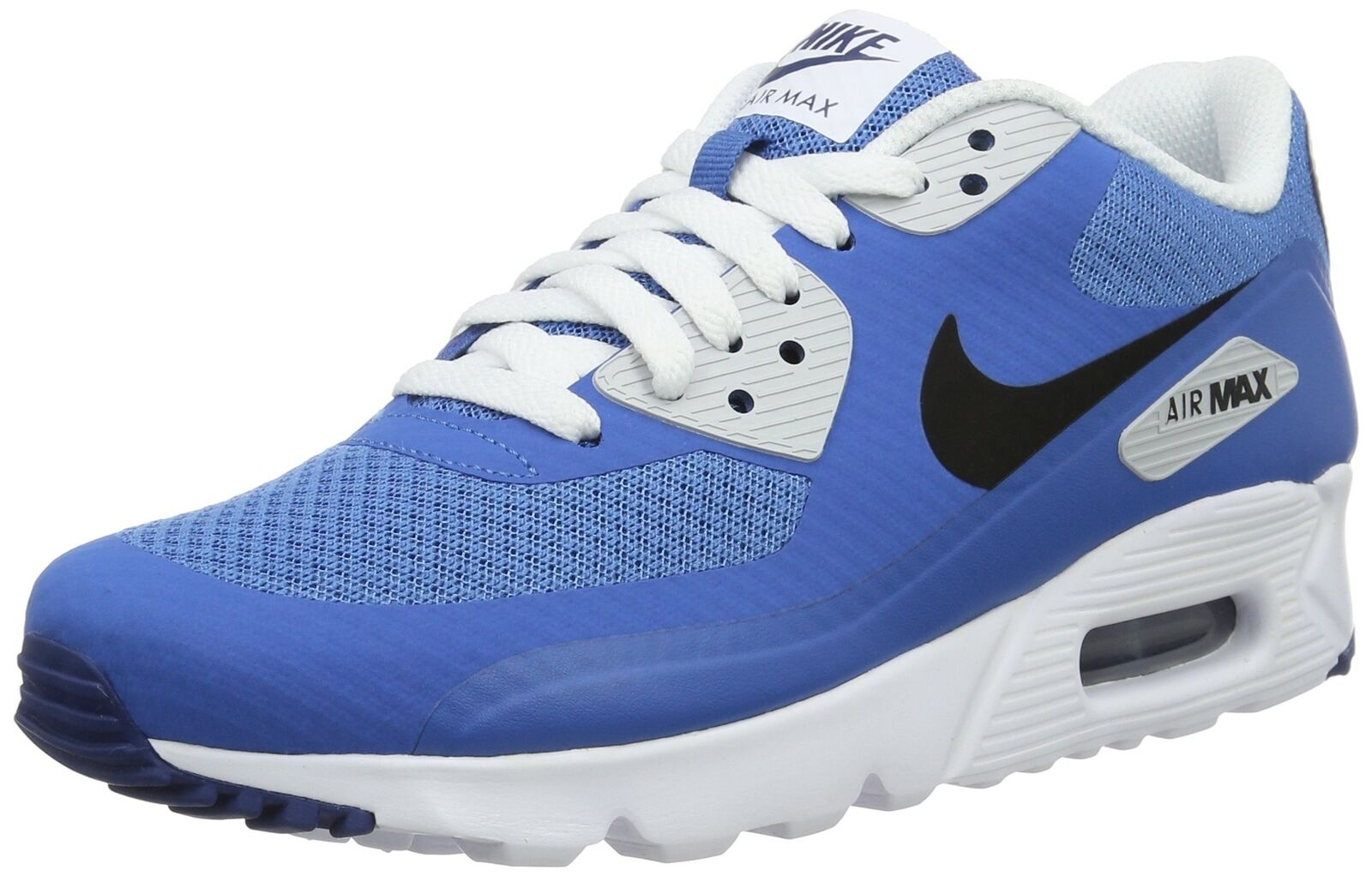 NIKE Men's Air Max 90 Ultra Essential, Star blueee BLK-CSTL BL-PR Pltnm, 7.5 M US