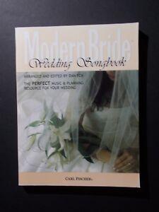 Modern Bride Magaz Wedding Song Book Carl Fischer Piano