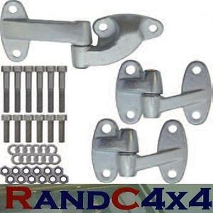 DA1240-Land-Rover-Defender-Rear-End-Door-Hinge-Kit-Inc-Stainless-Steel-Bolts