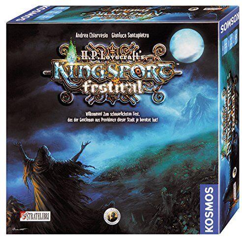 Kingsport Festival H.P. Lovecraft Cthulhu Brettspiel Kosmos Spiel NEU  | Fairer Preis