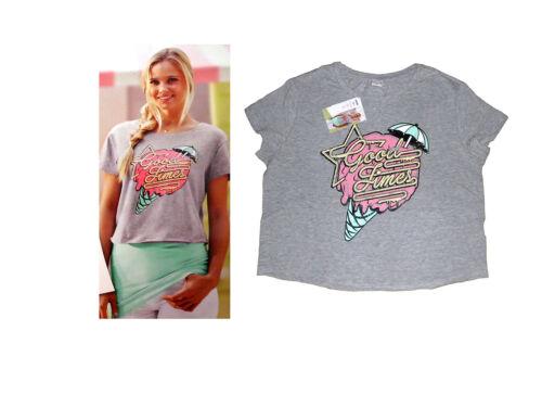 S-M Farbe  wählbar NEU modisches Damenshirt Kurzshirt Überwurf T.-Shirt  Gr