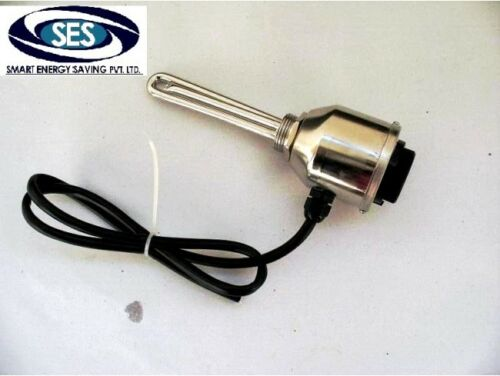 12 Volt Immersion Heater  Element with Adjustable Thermostat Control