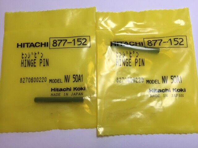 2 Qty Hitachi 877152 877 152 Hinge Pin Nv45ae Nv50a1
