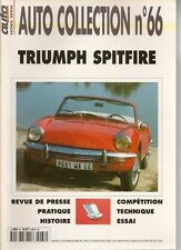 AUTO COLLECTION 66 TRIUMPH SPITFIRE MK1 MK2 MK3 MK4 1500