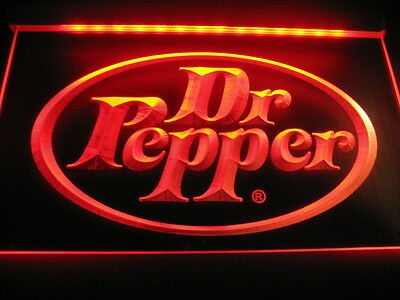 w2501Dr Pepper Gifts Product Pub Bar Neon Light Signs