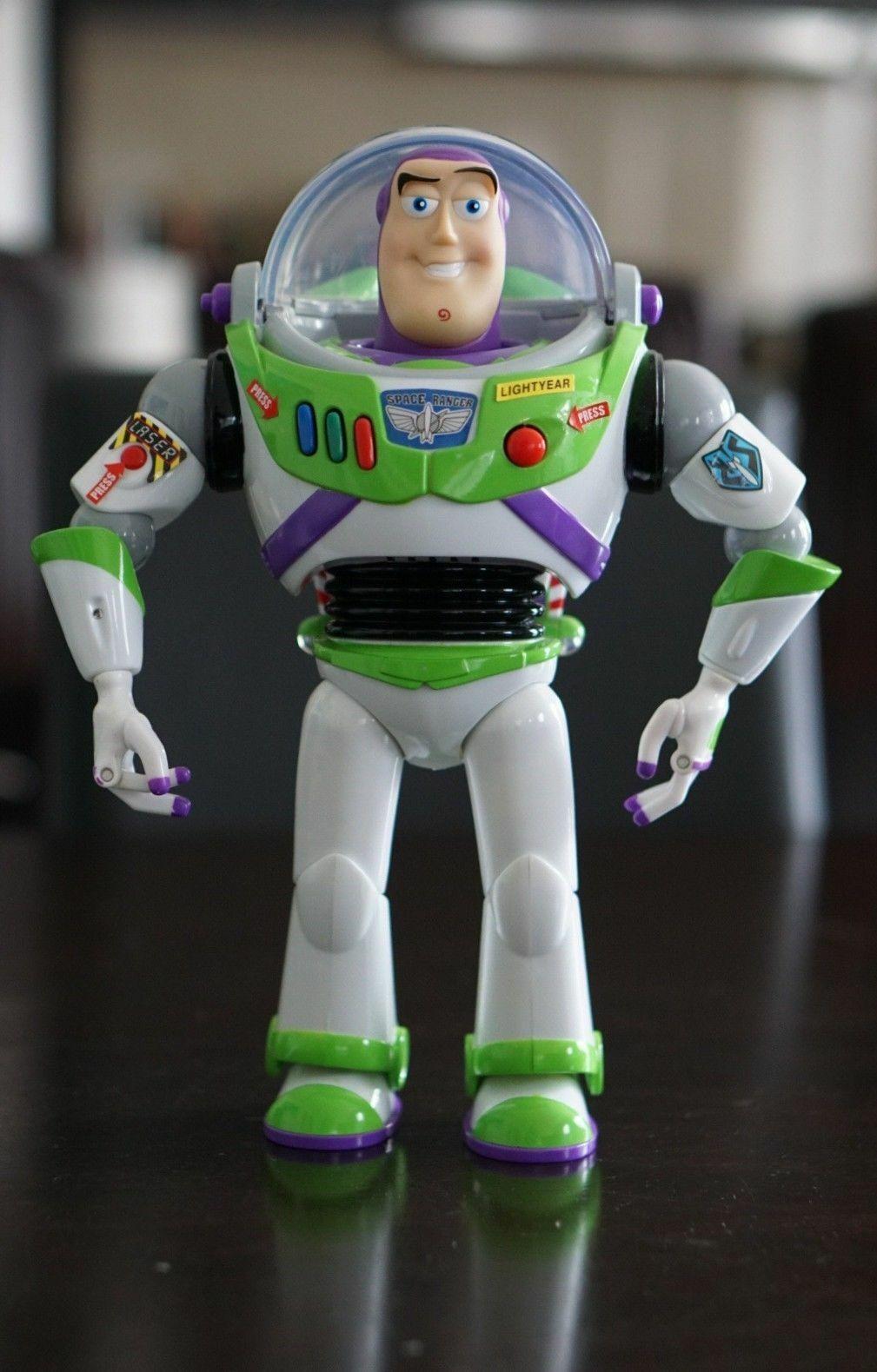 Original leksak berättelse samling Buzz ljusyear Talking bilen Figur Doll Sällsynt