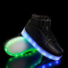 Kids USB Charging LED Light Up Luminous Fashion shoes Boys Girls Causal Sneakers