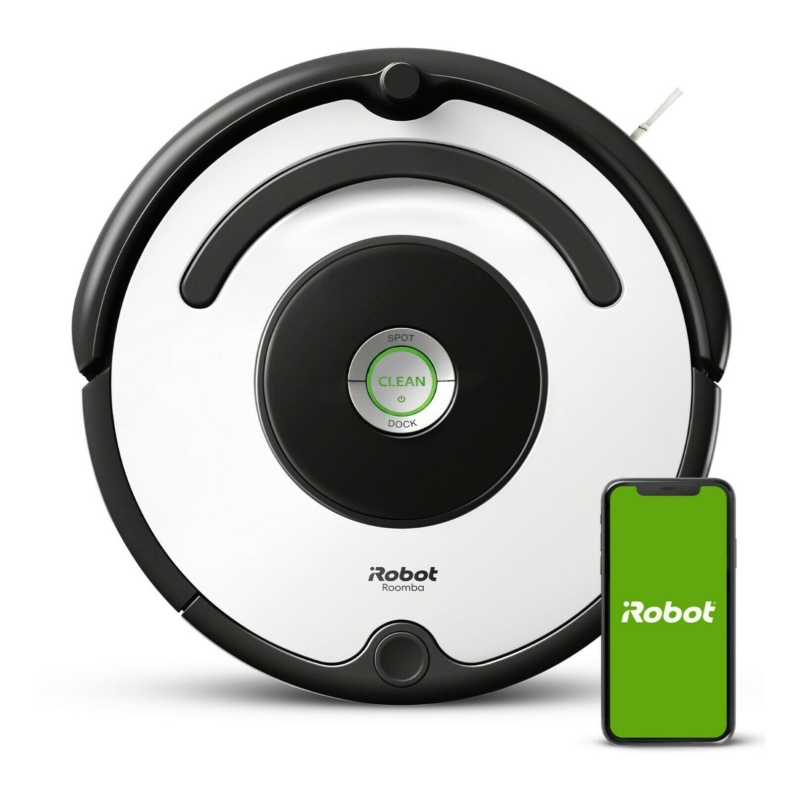 ebay.com - iRobot Roomba 670 Vacuum Cleaning Robot – Manufacturer Certified Refurbished! $169.99 + free shipping