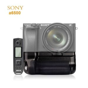 MK-A6500-Pro-2-4G-Wireless-Remote-Control-Vertical-Battery-Grip-For-Sony-A6500