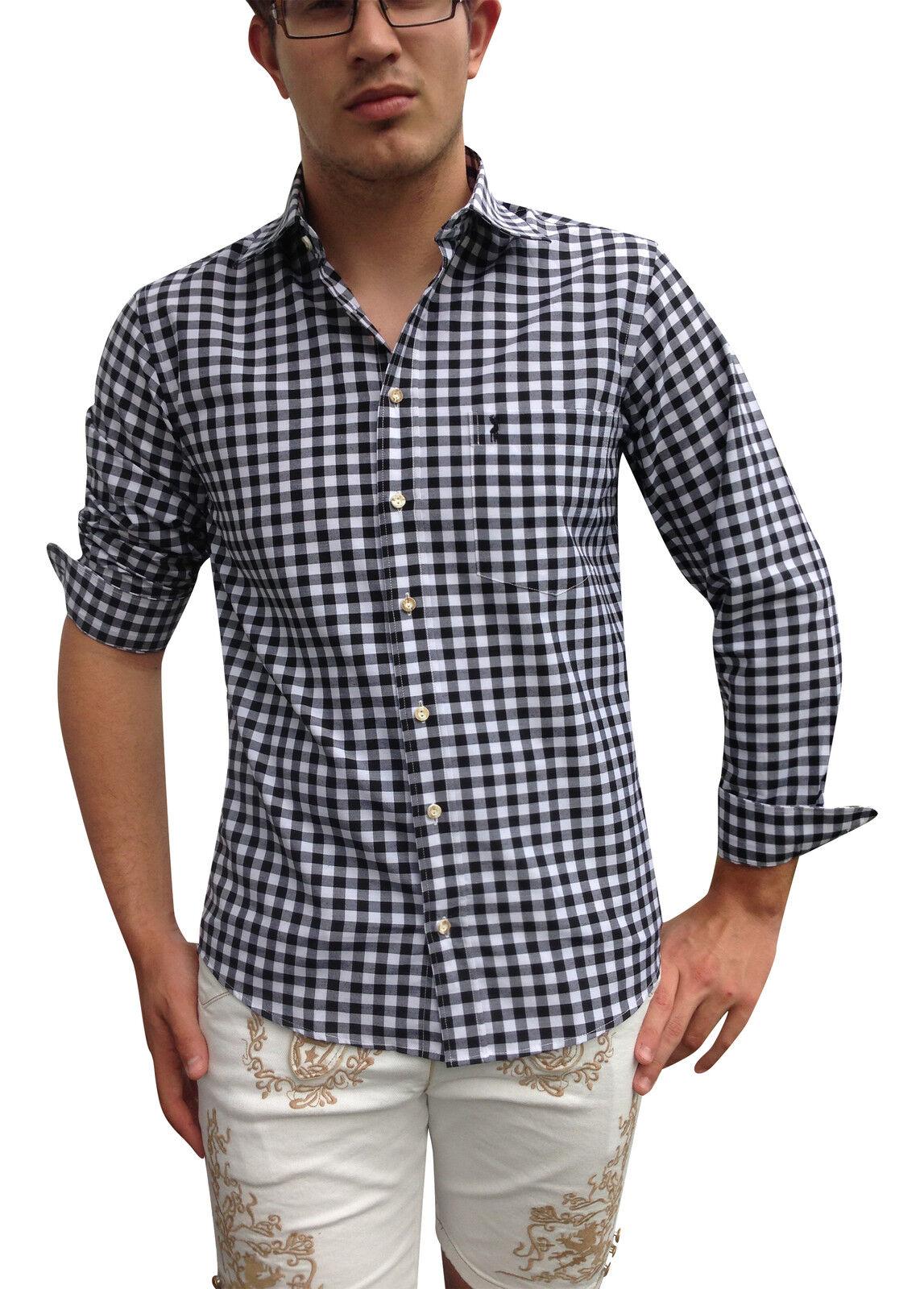Herren Hemden Trachtenhemden Freizeithemden Business Schwarz Schwarz Schwarz Weiß Baumwolle | Umweltfreundlich  | Kaufen Sie beruhigt und glücklich spielen  | Deutschland Store  | Gewinnen Sie das Lob der Kunden  | eine breite Palette von Produkten  e7955e
