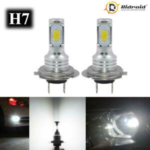 2X-H7-6000K-Super-White-8000LM-80W-LED-Fog-Light-Bulbs-Kit-High-Low-Beam-Lamp