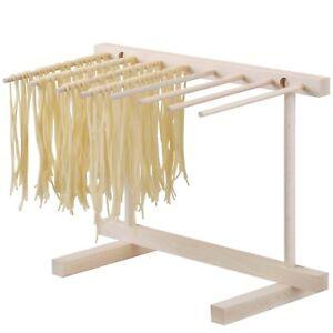 Essiccatore pieghevole per pasta fresca in legno stendi pasta supporto asciuga