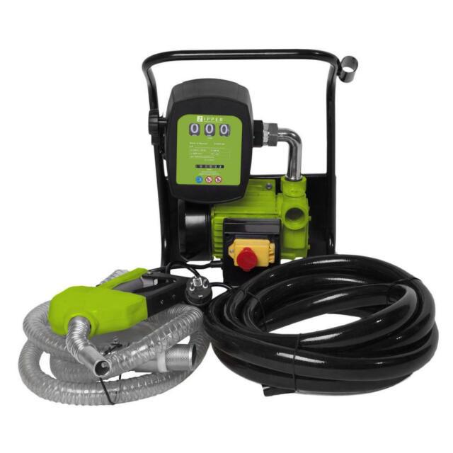 Bomba Diesel y Aceite Surtidor Zipper ZI-DOP600 600W 40 L/min Parada Automatica