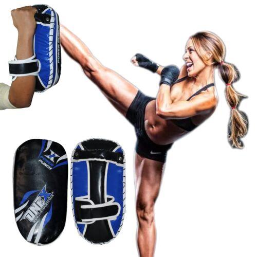ONEX® Pair Curved Thai Pads Kick Punching Strike Shield Muay Thai Kickboxing