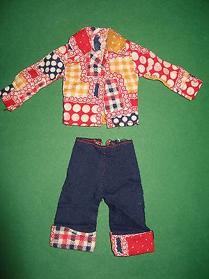 Intelligente (97) Età 2-palo Rosso Pantaloni Vestito 70er Anni F. Barbie U.a.29 Cm Bambole Moda-mostra Il Titolo Originale Ad Ogni Costo