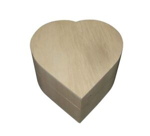 Plain-Wooden-Chunky-Heart-Trinket-Craft-Box-11cm-WBM0041