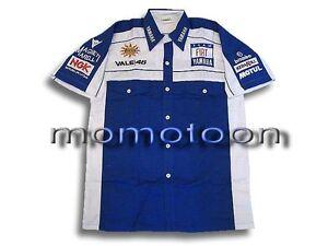Men-039-s-Gift-Motorcycle-Biker-Yamaha-Superbike-Racing-Pit-Shirt-Size-L