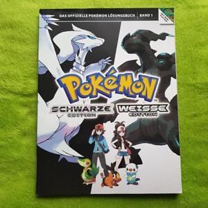 Conseiller Jeux / Livre Solution - Pokémon Noir & Blanc Édition (250 Pages) BéNéFique Au Sperme