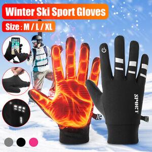 Gants-Doigt-Complet-Ecran-tactile-Chaud-Thermique-Coupe-Vent-Soprt-Ski-d-039-hiver